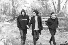 Hayden Tree, Brandon Hoover, and Dave Escamilla- Crown The Empire