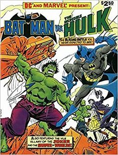 "Résultat de recherche d'images pour ""dc and marvel presents batman vs the incredible hulk 1"""