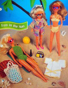Fun In The Sun By Annie's Fashion Doll Crochet Club
