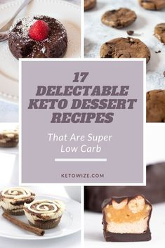 Keto Diet 17 Delectable Keto Dessert Recipes That Are Super Low Carb Ketogenic Desserts, Low Carb Desserts, Just Desserts, Low Carb Recipes, Baking Recipes, Ketogenic Diet, Easy Recipes, Diet Recipes, Keto Dessert Easy