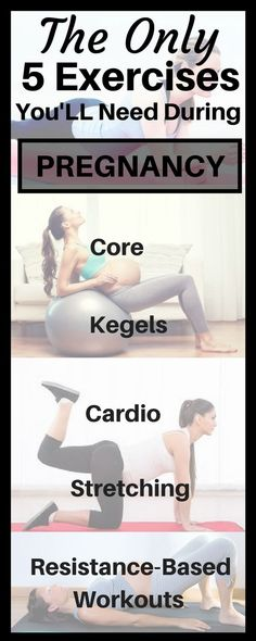 The Top 5 Pregnancy Exercises that every pregnant women must do.