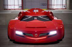 Need for Sleep Italia Turbo Car Bed with Roadster Mattress | Wayfair