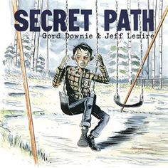 """""""Secret Path is a ten song album by Gord Downie with a graphic novel by illustrator Jeff Lemire that tells the story of Chanie """"Charlie"""" Wenjack, a twelve-year-old boy who died in flight from the Cecilia Jeffrey Indian Residential School fifty years ago. Indian Residential Schools, Indigenous Education, Aboriginal Education, University Of Manitoba, Grades, Canadian History, Canadian Culture, This Is A Book, Books For Teens"""