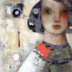 noma bliss art original abstract acrylic mixed media paintings
