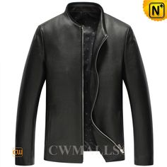 Minimalist design leather moto jackets crafted from natural Italian calfskin leather, CWMALLS original designer leather jackets featuring rib-knit collar, and full YKK zip, CWMALLS offer custom and wholesale service. Italian Leather Jackets, Best Leather Jackets, Designer Leather Jackets, Men's Leather Jacket, Lambskin Leather, Moto Jacket, Leather Men, Black Leather, Classic Leather