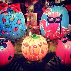 Preppy Pumpkin Paintings