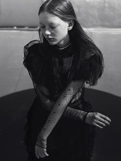Sara Grace Wallerstedt by Jack Davison For Dazed Magazine • Minimal. / Visual.