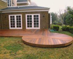 Hardwood Decking product details from J&W Lumber