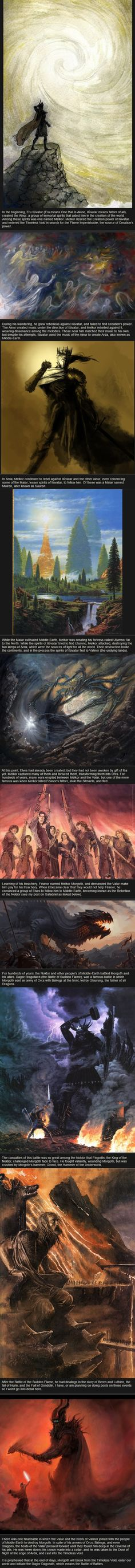 Relatively Unknown Lord of the Rings Facts - Morgoth<<<And it is also prophesied (since it left out the end) that Morgoth is finally destroyed by either Turin or Eonwe.