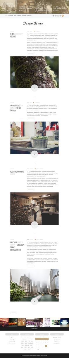 DreamStone - Personal WordPress Blog Theme #blogging Download: http://themeforest.net/item/dreamstone-personal-wordpress-blog-theme/13039770?ref=ksioks