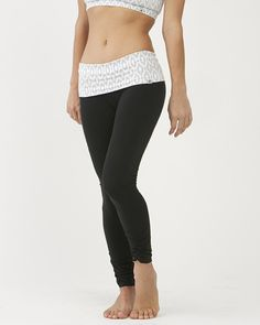 Ethnic Print Leggings (Long) / moani yoga / yoga bottoms