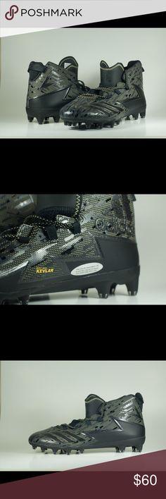 best service eed8d 4204c adidas Freak X Kevlar Football Cleats Black Gold ADIDAS FREAK X KEVLAR MID  MENS FOOTBALL CLEATS