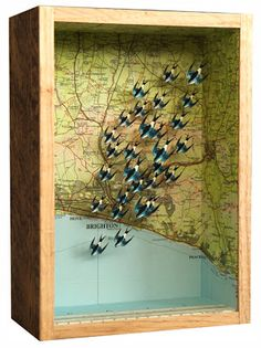 Maps and flying birds. What's not to like...