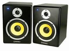Citronic ST-8 Powered Studio Monitor Speakers (Pair) – SoundWarehouse