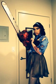 ash williams from evil dead cosplay for san diego comic con 2014 hell yes