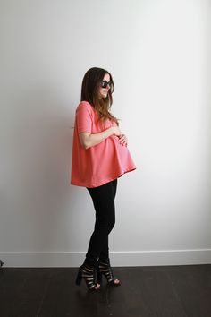 Gorgeous DIY maternity wardrobe to make yourself. Easy patterns & instructions