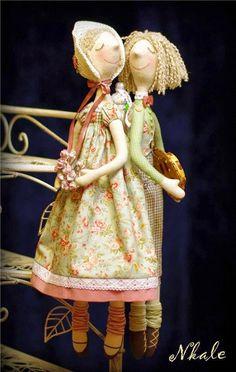 Mimin Dolls: molde básico da Nkale para casais
