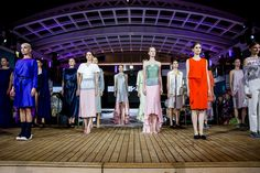 LINE UP || FASHION2NIGHT at EUROPA 2. || MIX IT Ausnahmsweise nur Party statt Kreuzfahrt / MIX IT For once just a party but no cruise. Foto: © Hapag-Lloyd Cruises