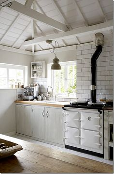AGA Cooker...swoon.