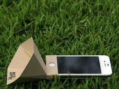 The Eco Amp Amplifies Sound in a Natural and Eco-Friendly Manner trendhunter.com