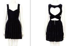vestidos cortos con espalda descubierta en forma de corazon - Buscar con Google