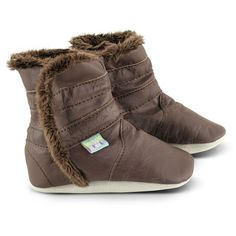 Classic+Brown+Soft+Leather+Baby+Boots+-+Our+gorgeous+brown+boots+keep+babies+toes+warm+and+snug.+Our+soft+leather+baby+booties+are+fully+fur+lined+right+down+to+the+toes+with+elasticised+sides+for+a+perfect+fit.+These+fabulous+baby+boots+are+brown+with+a+soft+brown+lining+and+are+perfect+with+any+outfit…