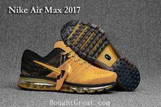Nike Air Max 2017 KPU Men Black Gold Shoes