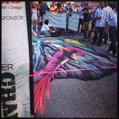 Denver Chalk Festival 2013 // Photo via livingindenver on Instagram