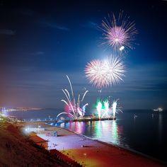 Bournemouth Air Festival fireworks