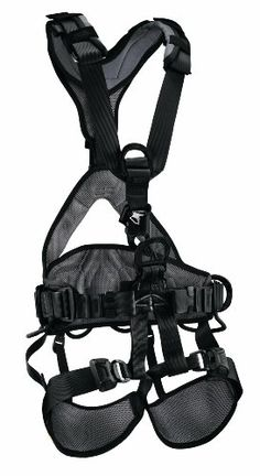 Petzl AVAO BOD CROLL FAST fall arrest Black harness size 0 CSA ANSI >>> More info could be found at the image url. This is an Amazon Affiliate links.
