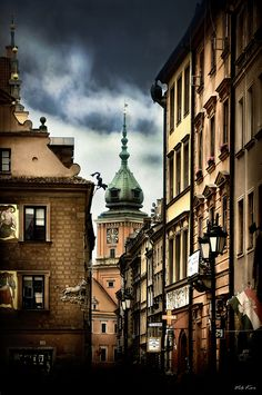 500px / Photo Streets of the old Warsaw by Viktor Korostynski