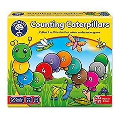 Orchard Toys Counting Caterpillars: Orchard: Amazon.co.uk: Toys & Games