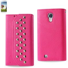 Consumer Electronics Cases, Covers & Skins Reiko Samsung Galaxy S5 Rhombus Wallet Case In Hot Pink