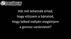 Halász Judit - Mit tehetnék érted (dalszöveg - lyrics video)