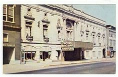 Vintage West Virginia | Capitol Music Hall Wheeling West Virginia Vintage Postcard WVA WV