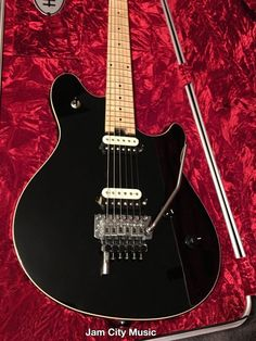 #EVH #Wolfgang Special Electric Guitar In Stealth Black With Deluxe Case w #DTuna