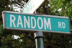Make Me a #Random #Road.  #FunnySigns #StreetSign #Princeton