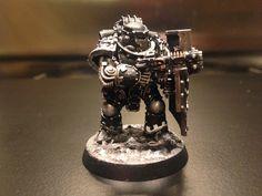 Battle Bunnies: Pre-Heresy Iron Hands: Paint Scheme