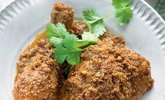 Goan-style Chicken with Roasted Coconut - Madhur Jaffrey