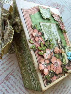 Learn how to make this whimsical mini album using Graphic 45's Once Upon a Springtime paper! Class will be taught by G45 Design Team alum Maria Cole on 4-18-15 at el&em in Battle Ground, WA. We have just a few spots left, so click the link to reserve your spot or order a kit that you can complete at home!