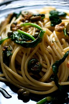 Pasta With Green Puttanesca Recipe - NYT Cooking