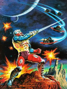 Masters Of The Universe - 18 (painting by Earl Norem)