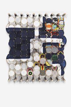Vacuumatron III Jacob Hashimoto 2013 46 x 38 cm Paper, wood, acrylic and Dacron GF 7175