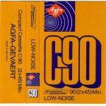 Colección carátulas de cassettes vírgenes (de los 70, los 80 y los 90)