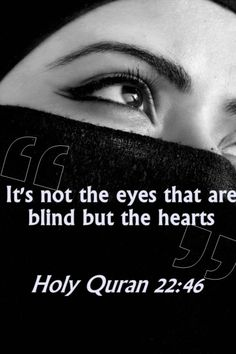 Is your heart blind?