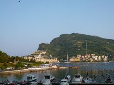 "Panorama, Camera di ""Locanda Lorena"", Palmaria Portovenere Liguria Italia (Luglio)"