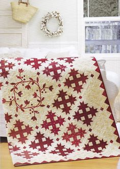 This kind of Patchwork Quilts is a really inspirational and really good idea Quilt Block Patterns, Quilt Blocks, Vintage Quilts Patterns, Patchwork Patterns, Antique Quilts, Scandinavian Quilts, Two Color Quilts, Blue Quilts, Colorful Quilts