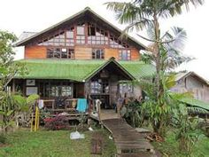 Santa Lucia Lodge. Near Nanegal, Ecuador