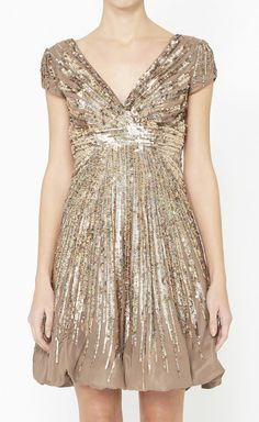 Brown, Copper And Multicolor Dress