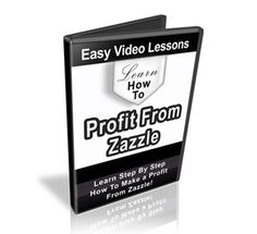 How To Profit From Zazzle - Learn how to proft from zazzle with our 5 part video tutorial series. Make money by selling your own stunning products designed by you. - Check more at http://www.nichevideogalore.com/store/profit-from-zazzle/